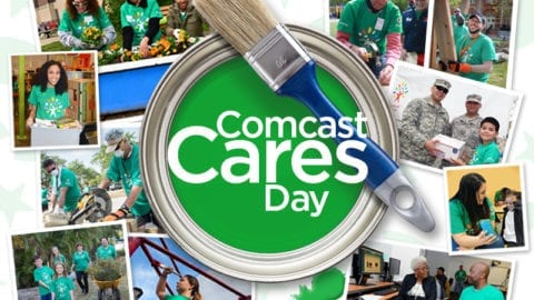 Comcast Cares Day – Register to Volunteer on April 22