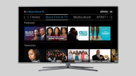 2017 Black History Month on Xfinity TV