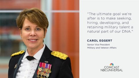 Comcast NBCUniversal's Military Commitment: Serving Our Country, Customers and Communities