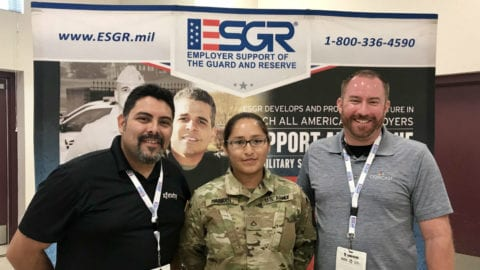 New Mexico Technicians Take Flight to Support Military Community